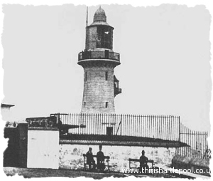 Lighthouse Battery circa 1910