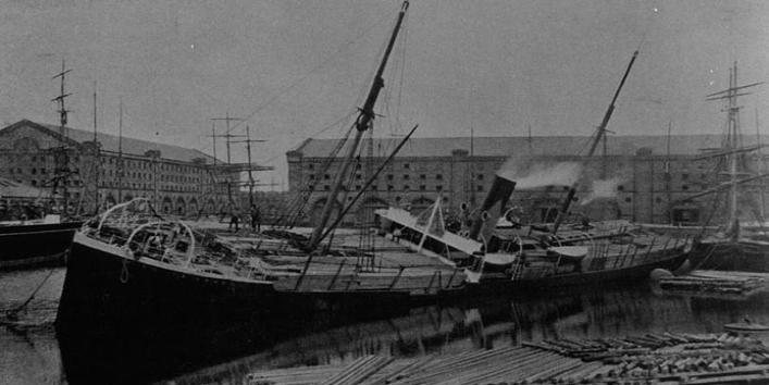 Central Dock c1905