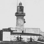 A view of the Lighthouse Battery circa 1910