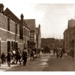 Bell St Central Estate. Cleveland Road and Docks in background
