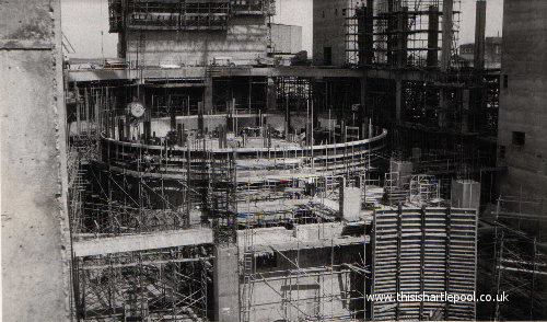Gallery Of Images 6 Building The Nuclear Power Station