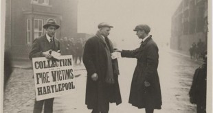 Fire Of Hartlepool 1922