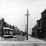Front Street electric tram 1902