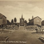Grotto and Calvary, St Cuthberts 1930s