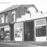 H Bailes garage 1922 1st pump in West 1921