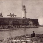 Hartlepool Lighthouse erected 1846-47 photo c.1910