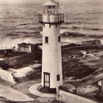 Hartlepool New Lighthouse built 1926 photo c.1930