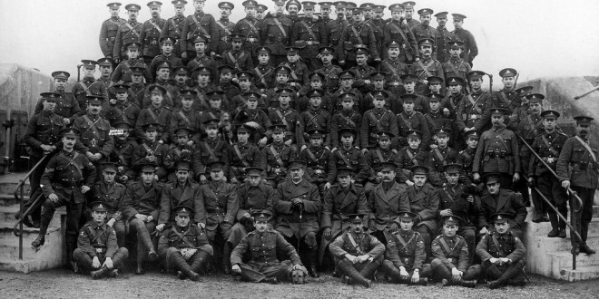 Officers-of-the-heugh-battery