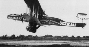 One of the 1st Commercial flights from West Hartlepool (Seaton Carew) to Hull on March 26th 1919, carried 3 pasengers in a Blackburn kangaroo (ex long range bomber).