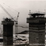 Reactor Hall towers - January 1970