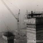 Reactor Hall towers - January-February 1970