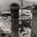 Reactor Hall towers - JanuaryFebruary 1970