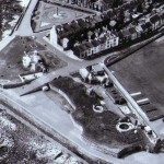 The Heugh Battery from the air circa 1960s