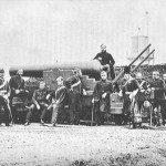 The Heugh Battery not long after completion in 1859