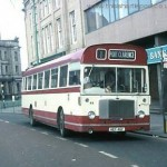 a bus outside (barclays - now the ward jackson pub (lloyds bar) church square