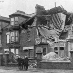 bombardment of central estate 1914