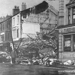 Three people perished in the explosion on Church Street during one of the air raids that came during the summer blitz of 1940