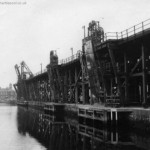 coal staithes vic dock 1966