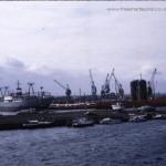 hartlepool docks 1980 - pre marina