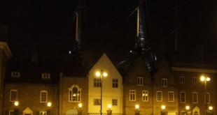 Historic Quay at night