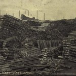timber yards 1910